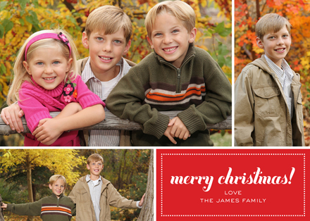 merry christmas! Holiday Photo Cards